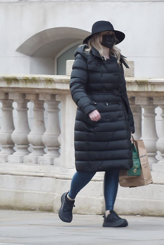 REBEL WILSON Out and About in London 03/25/2021