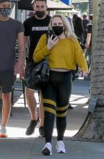 REBEL WILSON Out in Beverly Hills 03/05/2021