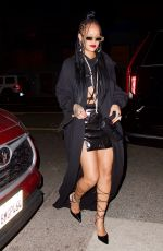 RIHANNA at Giorgio Baldi in Los Angeles 03/28/2021