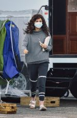 ROSE BYRNE on the Set of Physical in Santa Monica 03/19/2021