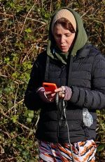 SADIE FROST Out wit Her in London 03/24/2021
