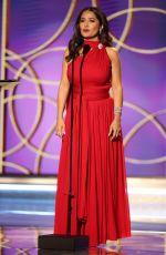 SALMA HAYEK at 2021 Golden Globe Awards in Beverly Hills 02/28/2021
