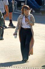 SANDRA BULLOCK on the Set of Bullet Train in Los Angeles 03/04/2021