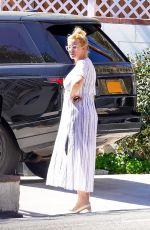 SANDRA LEE Outside Her Home in Malibu 03/04/2021