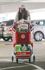 SARA SAMPAIO at Target Store in West Hollywood 03/03/2021