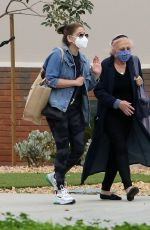 SARAH MICHELLE GELLAR Out with Her Mom in Los Angeles 03/07/2021
