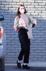 SCOUT WILLIS Out with Her Dog in Los Feliz 03/11/2021