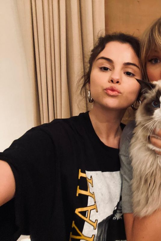 SELENA GOMEZ and TAYLOR SWIFT – Instagram Photos 03/23/2021