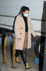 SELENA GOMEZ Arrives on the Set of Murders in the Building in New York 03/31/2021