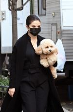 SELENA GOMEZ on the Set of Murders in the Building in New York 03/10/2021
