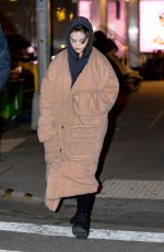 SELENA GOMEZ Out and About in New York 03/11/2021