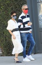 SELMA BLAIR and David Lyons Out in West Hollywood 03/05/2021