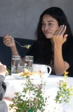 SHANINA SHAIK Out for Lunch at Crossroads Kitchen in Los Angeles 03/04/2021