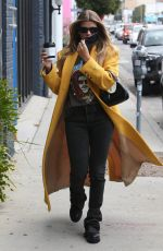 SOFIA RICHIE Out in Los Angeles 03/26/2021