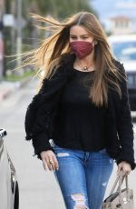 SOFIA VERGARA Out and About in West Hollywood 03/03/2021
