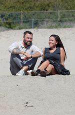SOLEIL MOON FRYE and Brian Austin Green at a Beach in Malibu 03/22/2021