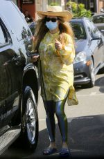 STACY FERGIE FERGUSON Out in Pacific Palisades 03/01/2021
