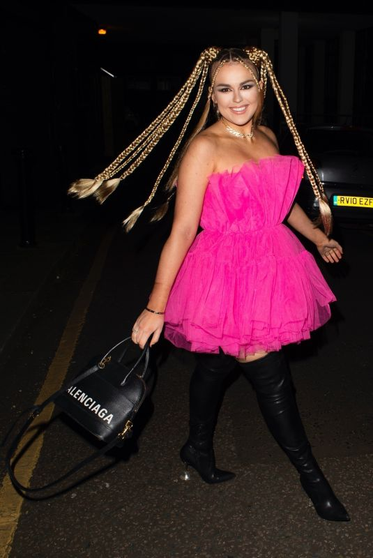 TALLIA STORM Night Out in London 03/06/2021