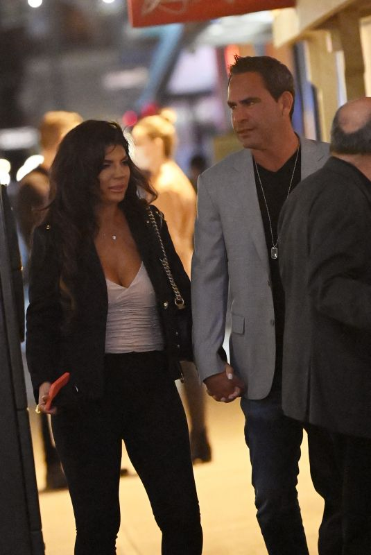 TERESA GIUDICE and Luis Ruelas Night Out in New York 03/29/2021