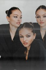 THYLANE BLONDEAU at a Photoshoot, January 2021