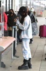 VANESSA HUDGENS at LAX Airport in Los Angeles 03/03/2021