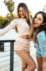 VICTORIA JUSTICE and MADISON REED at a Photoshoot, February 2021