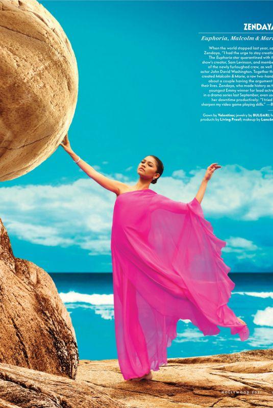ZENDAYA in Vanity Fair Magazine, Hollywood 2021