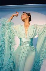 ZOE SALDANA in Flaunt Magazine, Spring 2021