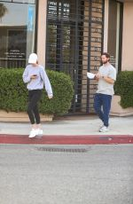 ABBY CHAMPION and Patrick Schwarzenegger Out in West Hollywood 04/06/2021