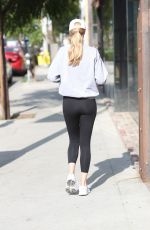 ABBY CHAMPION Out and About in West Hollywood 04/06/2021
