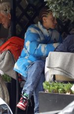 ADWOA ABOAH Out for Lunch in London 04/16/2021