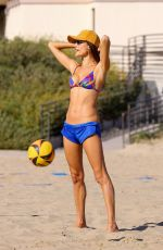 ALESSANDRA AMBROSIO at a Beach in Malibu 03/18/2021