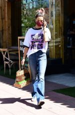 ALESSANDRA AMBROSIO at Kreation in Brentwood 04/09/2021
