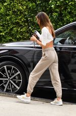 ALESSANDRA AMBROSIO Out and About in Beverly Hills 04/22/2021