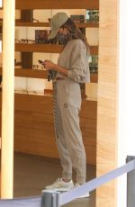 ALESSANDRA AMBROSIO Out for Lunch in Malibu 04/20/2021