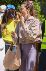 ALESSANDRA AMBROSIO Out for Lunch with Friends in Malibu 04/16/2021