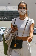 ALESSANDRA AMBROSIO Out in West Hollywood 04/06/2021