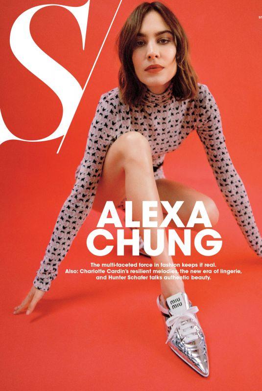ALEXA CHUNG for S Magazine, Spring 2021