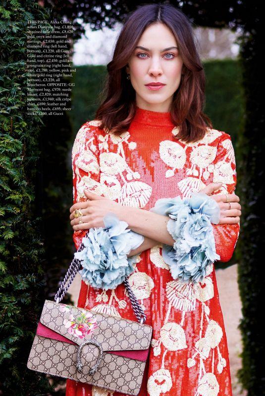 ALEXA CHUNG in Harper's Bazaar Magazine, UK May 2021