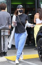 ALEXANDRA DADDARIO Out for Coffee in Los Angeles 04/12/2021