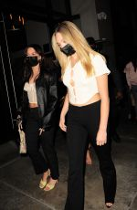 ALEXIS REN and MADDIE and MACKENZIE ZIEGLER at Catch LA in West Hollywood 04/08/2021