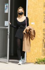 ALEXIS REN Arrives at a Ballet Session in Los Angeles 04/04/2021