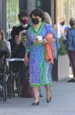 ALIA SHAWKAT Out and About in Los Feliz 04/17/2021