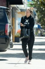 ALICIA SILVERSTONE Heading to a Gym in Los Angeles 04/26/2021