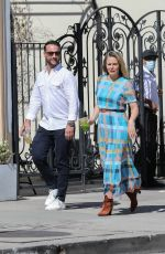 ALICIA SILVERSTONE Out on a Lunch Date in West Hollywood 04/29/2021