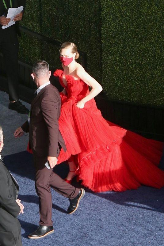 AMANDA SEYFRIED Arrives at 2021 Oscars in Los Angeles 04/25/2021