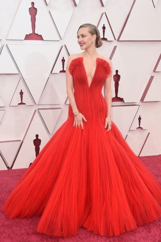 AMANDA SEYFRIED at 93rd Annual Academy Awards in Los Angeles 04/25/2021