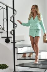 AMBER TURNER at a Photoshoot for Envy Shoes Collection in London 04/08/2021