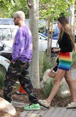 AMELIA HAMLIN and Scott Disick Out Shopping in Malibu 04/14/2021