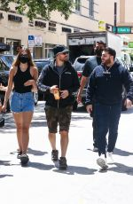 AMELIA HAMLIN and Scott Disick Out Shopping in Miami 04/08/2021